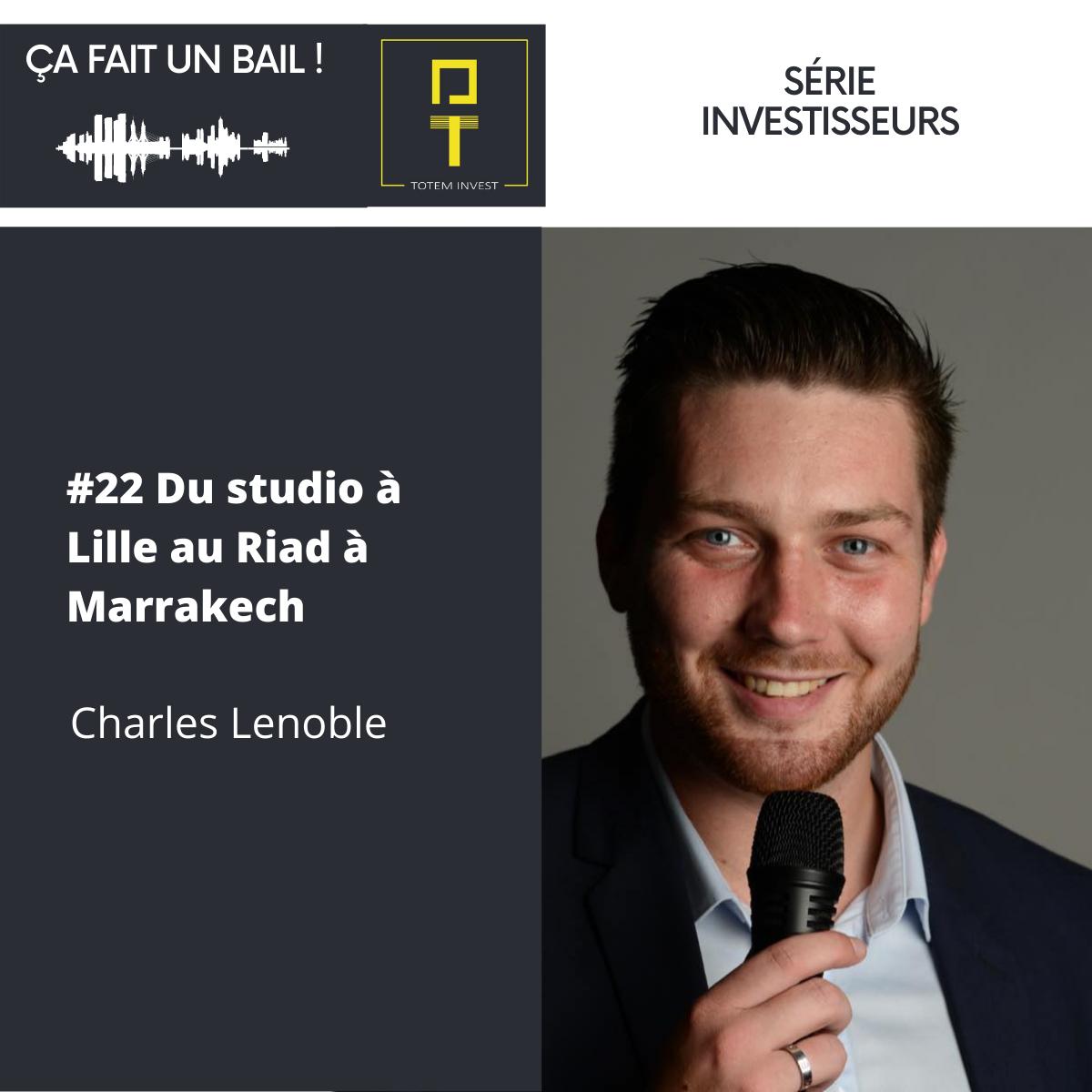 Charles Lenoble ÇA FAIT UN BAIL