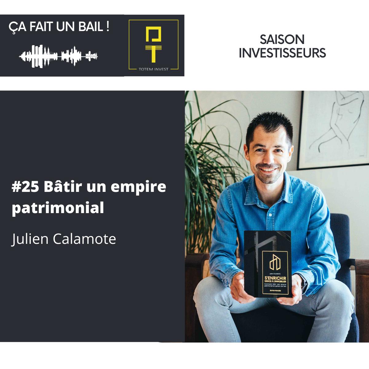 Julien Calamote ÇA FAIT UN BAIL