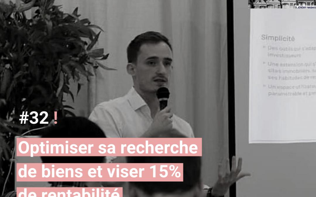 #32 Optimiser sa recherche de biens et viser 15% de rentabilité – Thomas Cornu, fondateur de Lybox